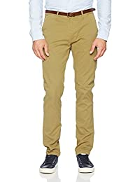 Scotch & Soda Herren Hose Nos Stuart-Slim Fit Cotton/Elastan Garment Dyed Chino Pant