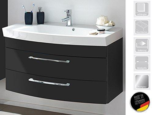 Waschplatz Unterschrank Waschtisch Badmöbel Waschbecken Badschrank