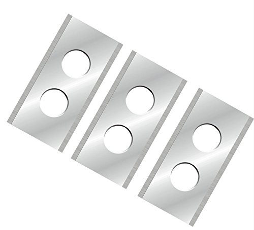 Techon 12 Ersatzmesser extrascharf passend für alle WORX Landroid 2-seitig - wendbar