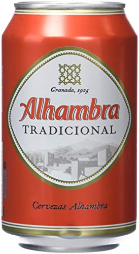 Alhambra Tradicional Cerveza - Paquete de 12 x 330 ml - Total: 3960 ml