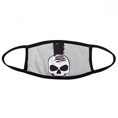 (DIYthinker Halloween Kerzen Schädel Hexe Gesicht Anti-Staubmaske Anti Kälte Maske Geschenk)
