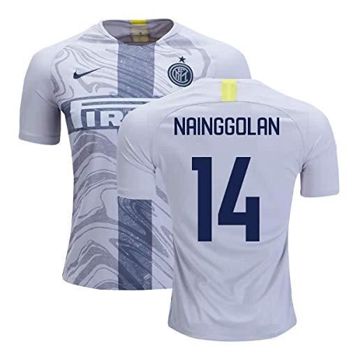 2018-2019 Inter Milan Third Nike Football Soccer T-Shirt Camiseta (Radja Nainggolan 14)