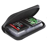 Jiacheng29 SD SDHC MMC CF Micro SD Memory Card Storage Carrying Pouch Case Holder Wallet