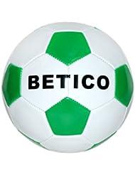 """Toinsa - Balón Fútbol Blanco y Verde """"Bético"""""""