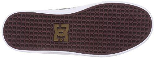 DC BRIDGE M XKKR Herren Sneakers Braun (Coffee COF)
