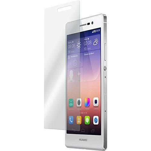 PhoneNatic 2 x Glas-Folie klar kompatibel mit Huawei Ascend P7 - Panzerglas für Ascend P7