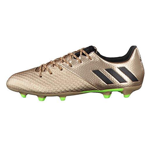 adidas Messi 16.2 Fg, Scarpe da Calcio Uomo Marrone (Bronzo/Cobmet/Negbas/Versol)