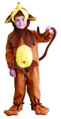 Foxxeo 10070 | Kostüm Affe Affenkostüm Tierkostüm für Kinder Kinderkostüm Gr. 86 - 140, ()