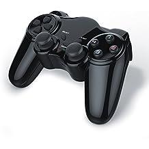 Gamepad inalámbrico para PS2 con doble vibración   controlador de mando   Plug & Play   negro