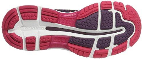 Asics Gel-Nimbus 19, Chaussures de Running Femme Noir (Black / Cosmo Pink / Winter Bloom)