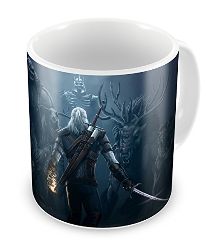 The Witcher III Geralt - taza de cerámica Witcher 3 Mug Type D
