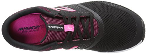 New Balance Damen Only Training Hallenschuhe Schwarz (Black/alpha Pink)