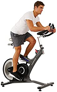 Sunny Health & Fitness Unisex Adult 7130 Asuna Lancer Rear Drive Magnetic Commercial Indoor Cycling Bike -