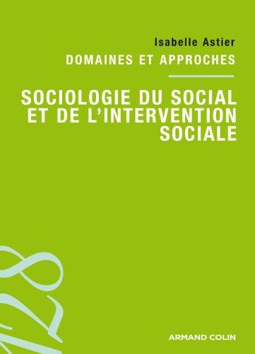 Sociologie du social et de l'intervention sociale: Domaines et approches