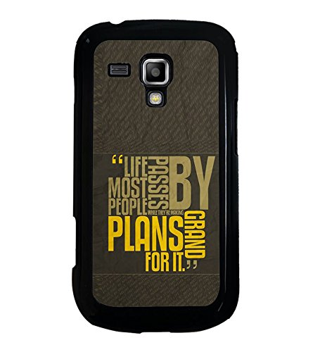 Fuson Designer Back Case Cover for Samsung Galaxy S Duos 2 S7582 :: Samsung Galaxy Trend Plus S7580 (Life Journey passers by Grand plans People)  available at amazon for Rs.349