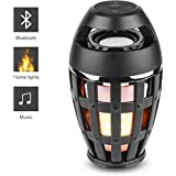 Maharsh Flame Atmosphere I3 Bluetooth Speaker With FM Color Black Led Flame Bluetooth Speaker, Torch Atmosphere Bluetooth Speakers&Outdoor Portable Stereo Speaker With HD Audio And Enhanced Bass
