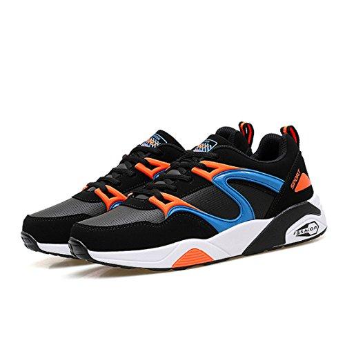 Men's Zapatillas Air Mesh Outdoors Running Shoes Orange
