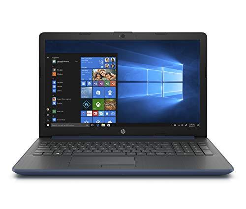 """HP 15-db0024ns - Ordenador portátil 15.6"""" HD (AMD A9-9425, 12GB RAM, 256GB SSD, Dedicada, AMD Radeon 520-2GB, Windows 10) color azul - Teclado QWERTY Español"""