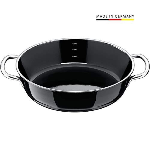 Silit Professional Servier-Schmorpfanne, schwarz, 28 cm