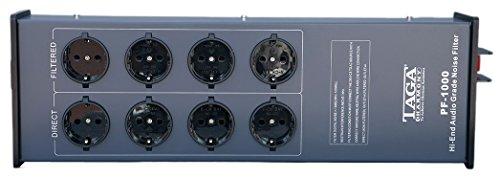 Taga Harmony PF-1000 audiophile Netzleiste mit Filter für Hifi, High End und Heimkino Anlagen