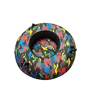 TLTLXQ Snow Tube, Dicker, Verschleißfester Skiring-Ring