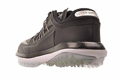 Nike Lunar Control Dampf Sneaker, Damen Schwarz (nero / Argento Metallizzato / Bianco)