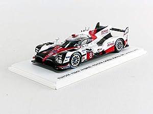 SPARK-Coche en Miniatura de colección, S5804, Color Blanco/Rojo/Negro