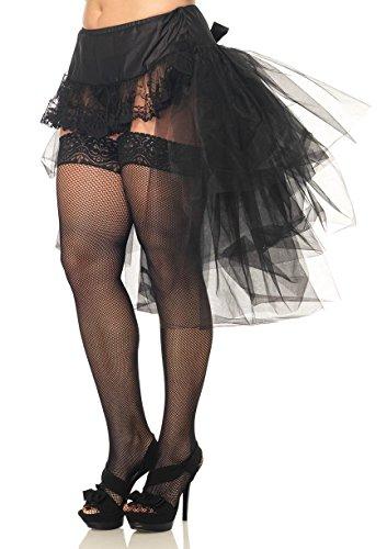 Leg Avenue Tulle Bustle Skirt Model A1704Q Schwarz 3X-4X, 1er Pack (1 x 1 Stück)