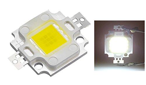 Chip led de 10W, faro de luz blanca de alta luminosidad, 800-900 lm, repuesto para foco SMD