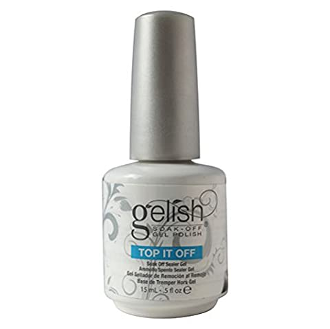 Gelish Soak Off Gel Polish, Top It