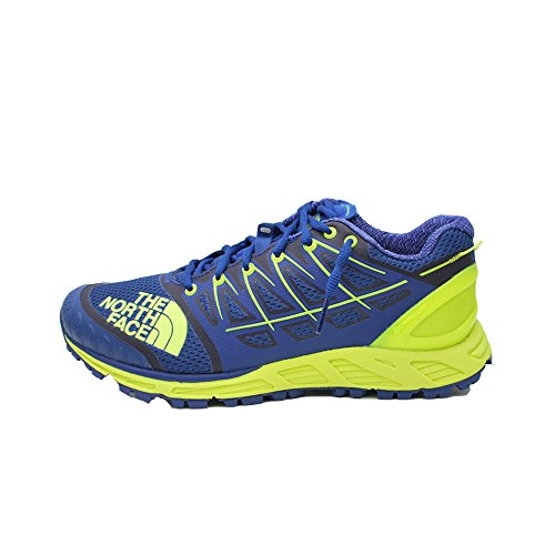 The North Face M Ultra Endurance II, Chaussures de Fitness Homme, Bleu (Bright Blue/Dayglo Yellow 4Cu), 43 EU