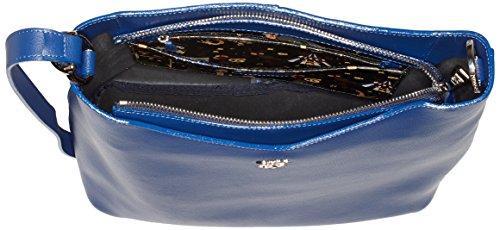 piero guidi 210801082, Borsa a Tracolla Donna, 32 x 30,5 x 11,5 cm (W x H x L) Blu (Notte Scura)