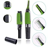 Goodrich All-In-One Personal Hair Trimmer Micro Touches Max | Micro Touch All In One Personal Ear/Nose/Neck/Eyebrow Hair Trimmer For Men And Women