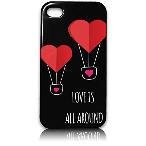 farmygadget Coque Case Étui Impression Complète type Love pour Smartphone Apple 00018m