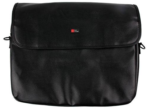Preisvergleich Produktbild Elegante Laptop-Tasche in Schwarz innengepolstert und mit längenverstellbarem Tragegurt für 15,6 Zoll HP Hewlett Packard Pavilion Notebooks Modelle 15-ba040ng | 15-au111ng