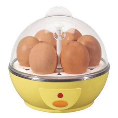 Kabalo Chaudière d'oeufs électrique / vapeur pour 6 oeufs - Accessoires de cuisine et petits appareils ménagers de Kabalo [Electric Egg Boiler / Steamer for 6 Eggs - Kitchen Accessories and Small Appliances from Kabalo]