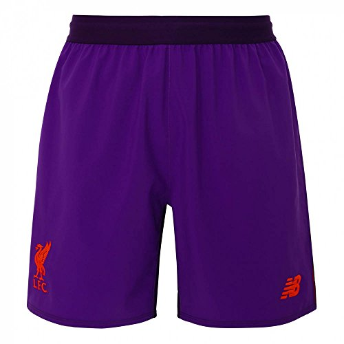 New Balance 2018-2019 Liverpool Away Shorts (Purple)