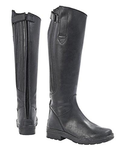MERAN - Stivali da equitazione invernali, neri 39