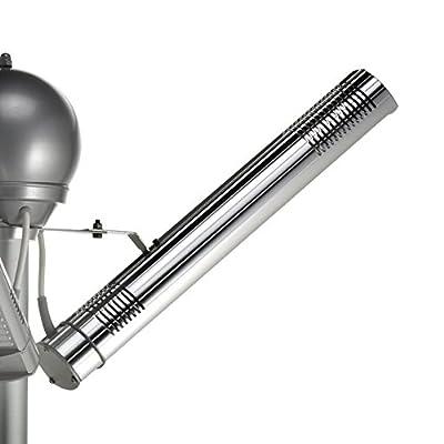 AEG IR Premium 6000 Tower Infrarot-Kurzwellenheizstrahler 6000 W, 400 V, alu, IP 65