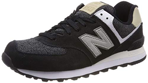 New Balance, Herren Sneaker, Schwarz (Black), 44.5 EU (10 UK)
