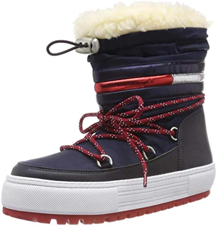 Hilfiger Hilfiger Hilfiger Denim Tommy Jeans Corporate Snowavvio, Stivali da Neve Donna | Resistenza Forte Da Calore E Resistente  | Sig/Sig Ra Scarpa  dbd476