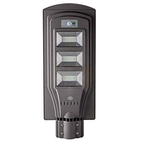Semaforo Solare All'aperto, Luce Impermeabile Senza Fili Di Sicurezza Del Sensore Di Moto LED Con Palo, Crepuscolo All'alba Ha Condotto La Luce Di Inondazione Per Il Giardino Del Giardino