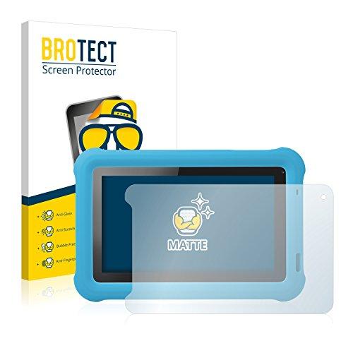 BROTECT Entspiegelungs-Schutzfolie kompatibel mit Medion Lifetab Junior Tab S7322 (MD 98957) (2 Stück) - Anti-Reflex, Matt