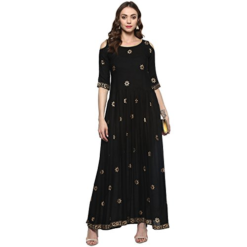 Roadstar India long length anarkali cotton kurtis for womens/girls(kurtis for womens new...