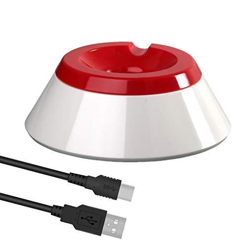 Preisvergleich Produktbild Busirde Ladestation Ständer Halter Ersatz für NS Monster-Ball-Plus-Ladestandhalter + Typ C-Ladekabel