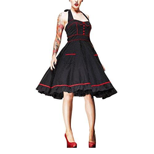 Hell Bunny - Rockabilly Kleid Vanity Dress Polka Dot