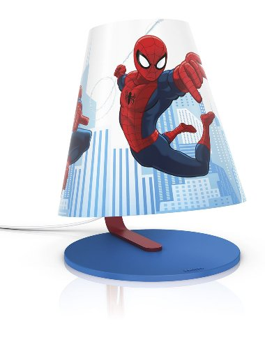 Philips e Disney, Spiderman, Lampada da Tavolo LED 3W