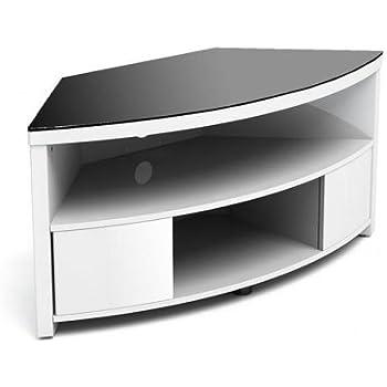 Gecko imp900-gwb Armoire d'angle avec support de montage pour TV–Blanc