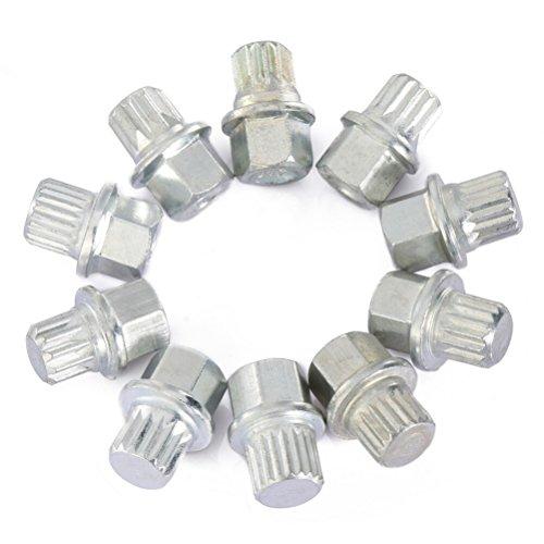 Tuercas, Besita 6704 juego de herramientas de 10 piezas perno antirrobo bloqueo de rueda neumático para coches VW