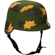 Guirca Hojas Casco Camuflaje, Disfraz, Color Verde Militar, única, ...